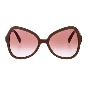 Prada Butterfly Gradient 56mm Sunglasses